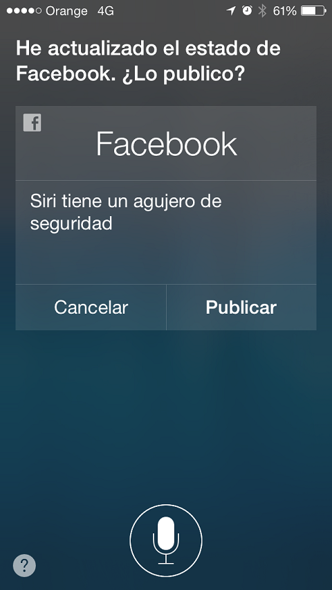 Vbarraquito Siri Facebook