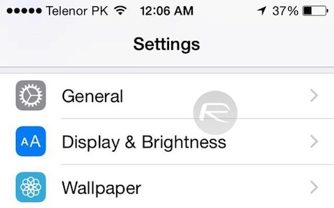 Display-Brightness-slider