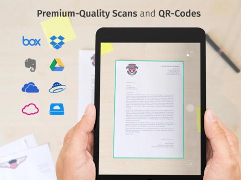 Scanbot Escáner de PDF y códigos QR