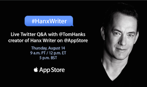 Tom Hanks Hanx writer copia