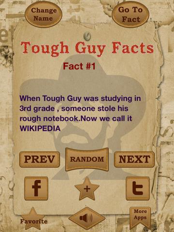 Tough Guy Facts - 2000+ hilarious jokes