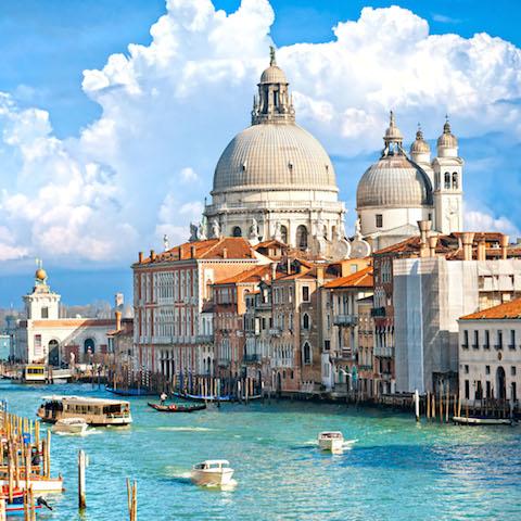 Wallpaper iPad Venecia Gran Canal Italia iPad 480