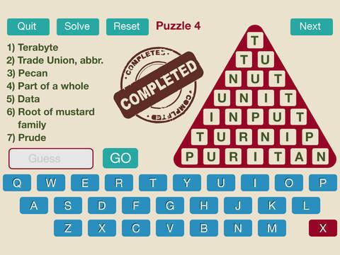 Word Triangle