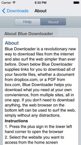 blue downloader 2