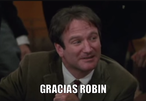 robin williams GRACIAS