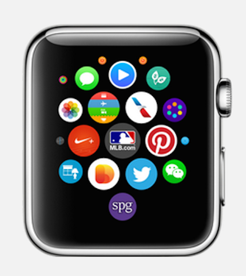 Apple Watch universo de apps