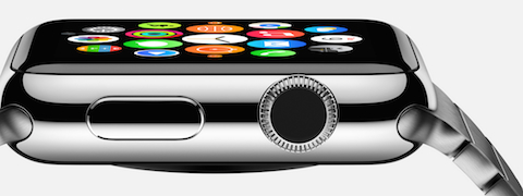 Apple watch corona digital