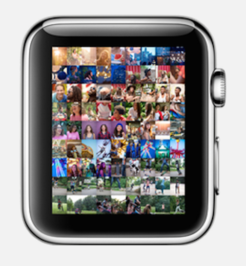 Apple watch fotos
