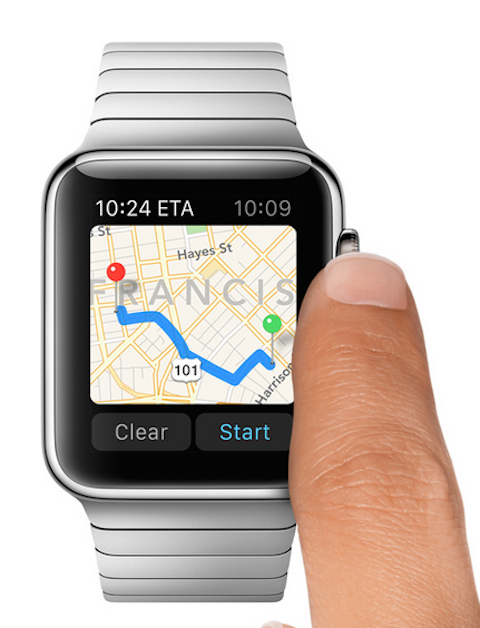 Apple watch mapas 2222