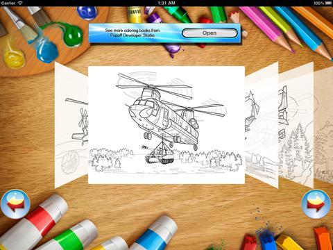 Helicópteros - Coloring Book