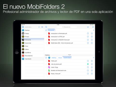 MobiFolders - Administrador de archivos y lector PDF