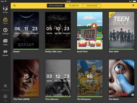 TVShow Time para iPad