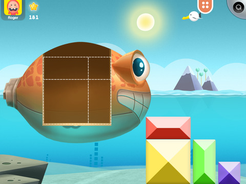 Tuggy's Kids Shape Puzzle Game