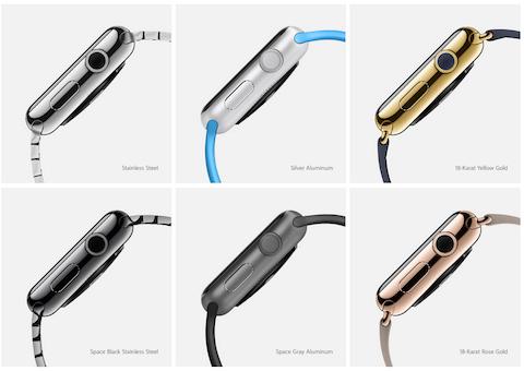 apple watch cuerpos disponibles