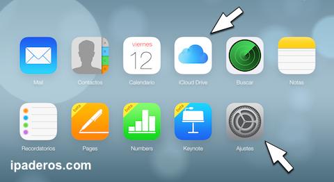 iCloud com drive