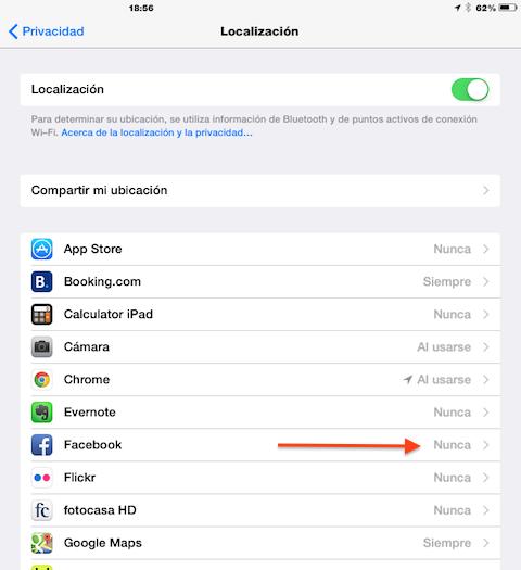 localizacion apps
