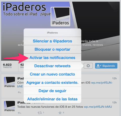 notificaciones activar