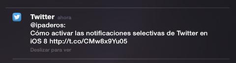 notificaciones interactiva selectiva twitter 2