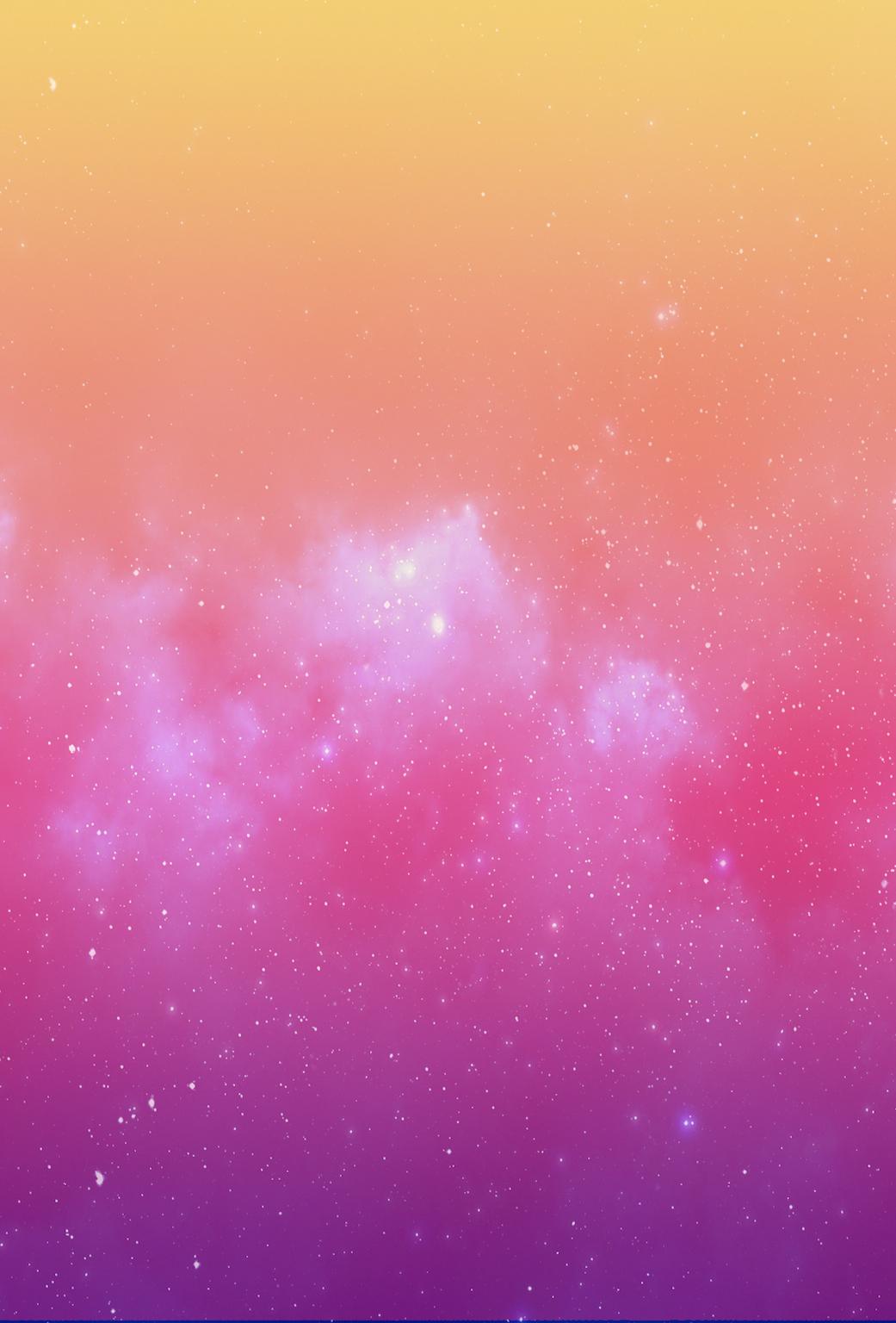 Wallpaper de la semana #44: Galaxia abstracta en iPaderos