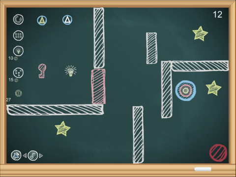 CHALKY-Game on the Blackboard