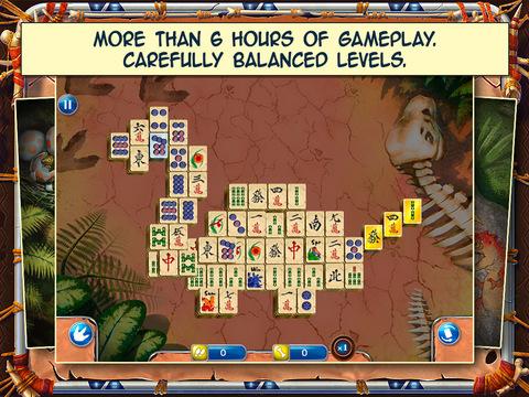 Jurassic Mahjong Solitaire