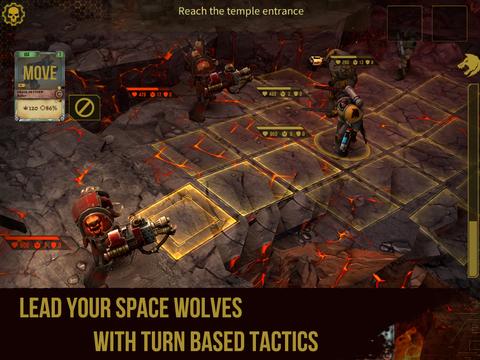 Warhammer 40,000- Space Wolf