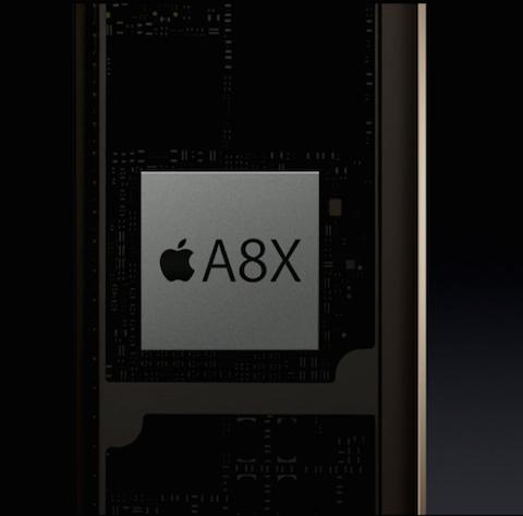 procesador a8x chip