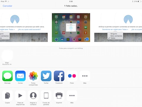 Compartir iOS