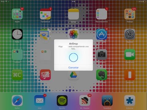 Compartir iPad