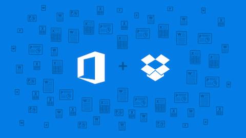 Dropbox + Microsoft