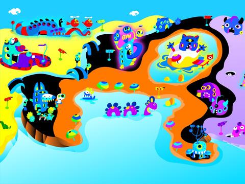 Monsters Mixer Village