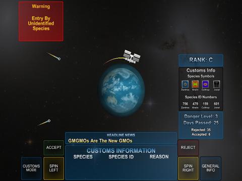 Space Customs