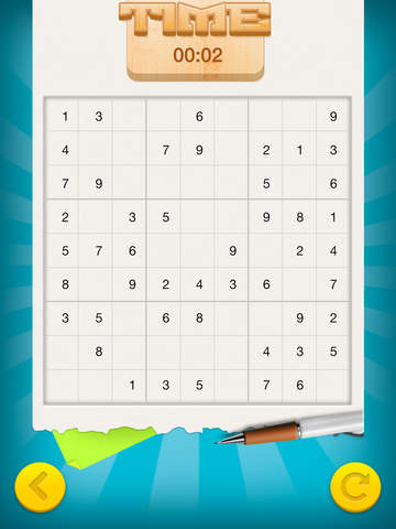 Sudoku - Numbers Place