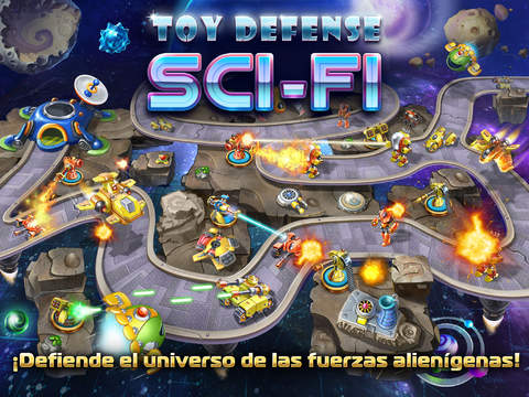 Toy Defense 4- Sci-Fi