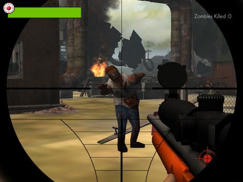 Zombie francotirador Reload