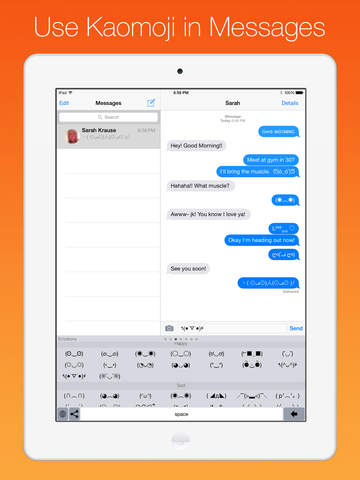 Kaomoji Keyboard for iOS 8