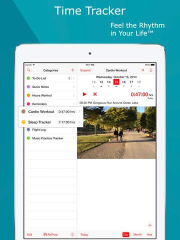 Lumen Trails Time Tracker+