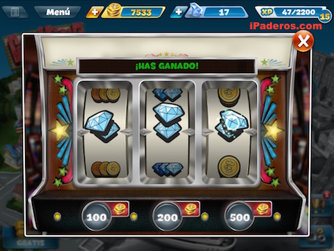 casino in cooking fever