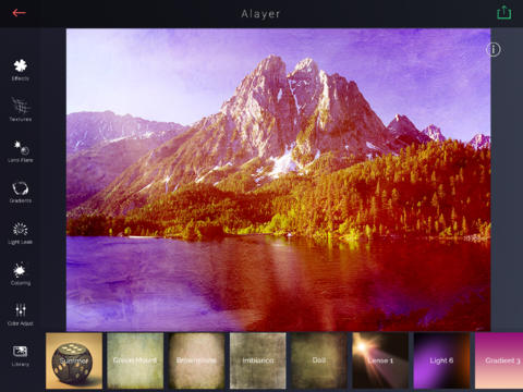Alayer for iPad