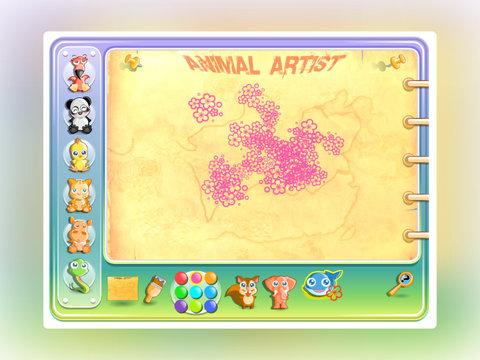 Animal Feet Painting