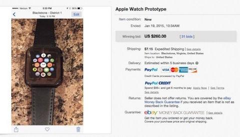 apple watch cunero