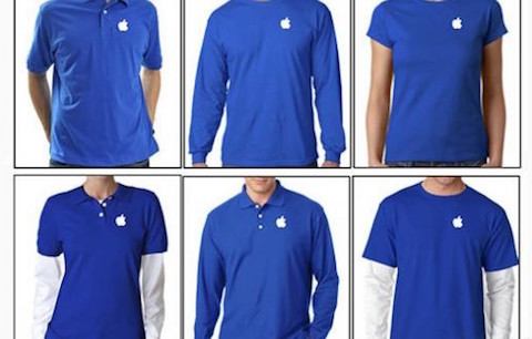 uniformes apple store