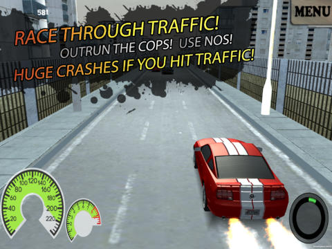 3D Real Police Escape Reloaded Traffic Mayhem Racer