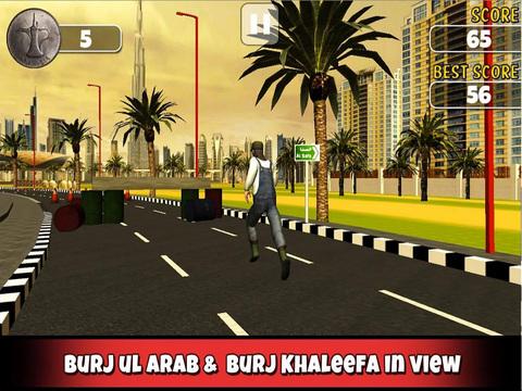 Run in Dubai