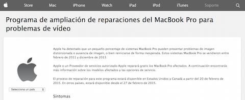 macbook pro vídeo programa