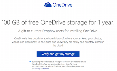 onedrive dropbox 100gb 22