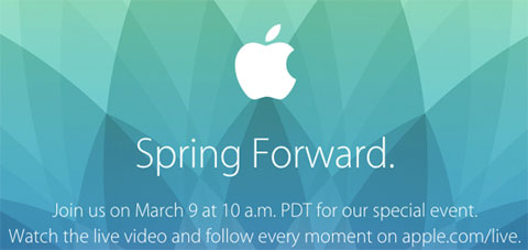 Keynote de Apple: Spring Forward