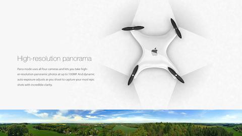 Apple Drone 4
