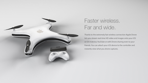 Apple Drone 5