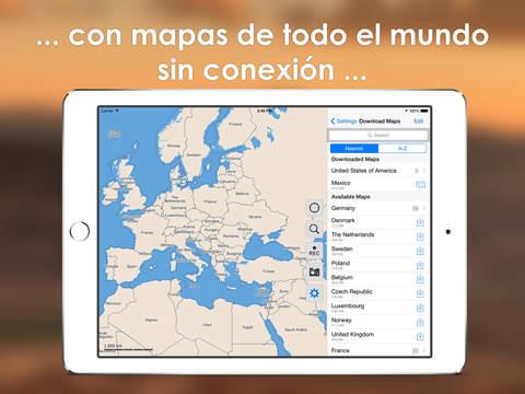 Galileo Mapas Offline Pro